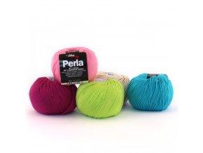 Příze Perla - bambus + bavlna
