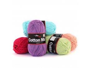 Příze Cotton Mix - bavlna + akryl
