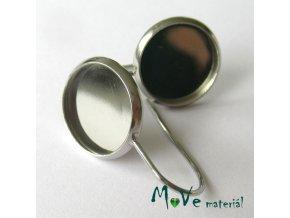 Háčky s lůžkem chirurgická ocel 2ks (1pár)