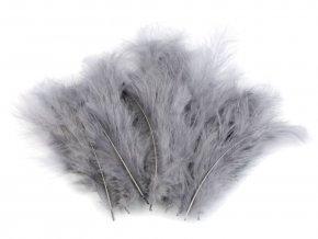 Pštrosí peří 9-16 cm, balení 20ks - různé barvy