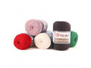 Macrame Cotton - šňůra - bavlna + polyester