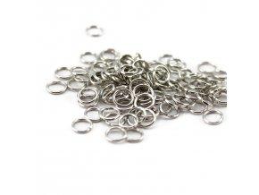 Spojovací kroužek průměr 5mm, 5g, platina