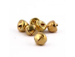 Rolničky zlaté - 8mm/6ks
