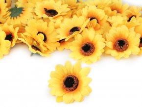 Umělý květ slunečnice Ø75 mm
