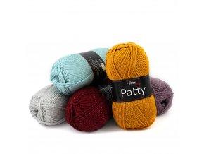 Příze Patty - akryl a metalické vlákno