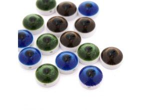 """Knoflík oko -  20"""" - 12,7mm - různé barvy"""