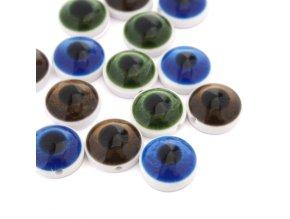 """Knoflík oko -  24"""" - 15,24mm - různé barvy"""