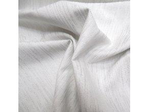 POTAHOVÉ PLÁTNO - bílá a stříbrná, ŠÍŘE 140CM/1BM