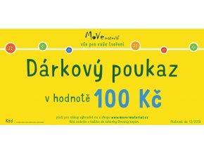 dárkový poukaz e shop 100