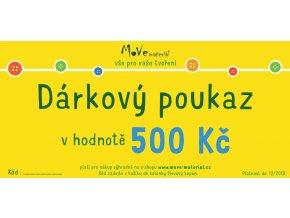 dárkový poukaz e shop 500