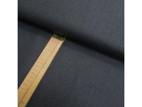 Bavlněné plátno - Černá imitující vzhled džínoviny - šíře 140cm/1bm