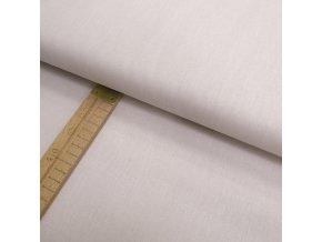Bavlněné plátno - lněná půda světle béžová - šíře 150cm/1bm