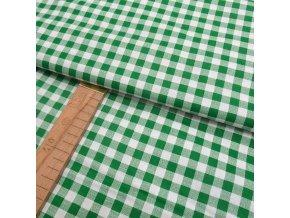 Bavlněné plátno - Kostička zelená - šíře 140cm/1bm