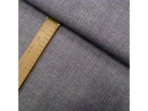 Bavlněné plátno - Lněná půda tmavě šedá - šíře 150cm/1bm