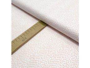 Bavlněné plátno - Rozpité puntíky - šíře 160cm/1bm