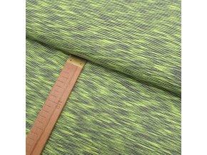 Úplet - Žluto-zelená - šíře 150cm/1bm