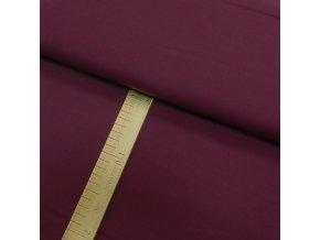 Úplet - Vínový - šíře 150cm/1bm