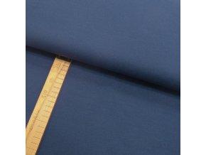 Úplet - Tmavě modrý - šíře 150cm/1bm