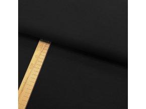 Úplet - Černý - šíře 150cm/1bm