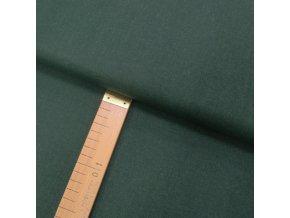 Bavlněné plátno - Tmavě zelená - šíře 140cm/1bm