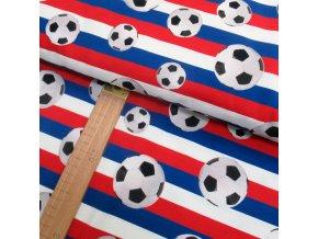 Úplet - Fotbalové míče - digitisk - šíře 150cm/1bm