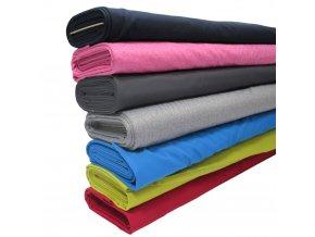 Zimní softshell s fleecem - jednobarevný - šíře 145cm/1bm
