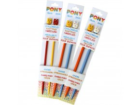 Jehlice Pony rovné dětské - vel. 3,25 - 6mm