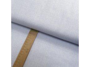 Bavlněné plátno - Lněná půda světle modro-šedá - šíře 150cm/1bm