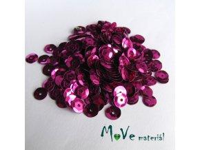 Flitry lomené 6mm, 5g, růžovofialová