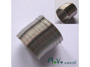 Prstýnkový paměťový drát 20mm balení 20 otoček
