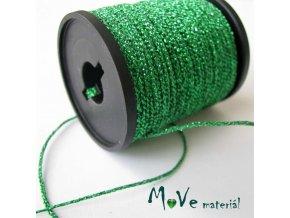 Šňůra rexorová šíře 3mm, 3m, zelená