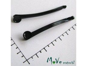 Vlasová spona 60mm s lůžkem 7mm 1 kus