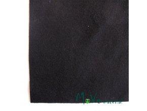 Plsť (filc) 20x30cm, 1ks, černá