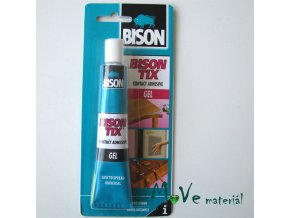 Kontaktní lepidlo - gelové - Bison Tix Gel