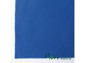 Plsť (filc) 20x30cm, 1ks, tmavě modrá