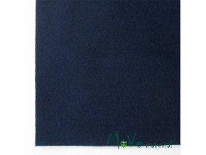 Plsť (filc) 20x30cm, 1ks, námořnická modrá