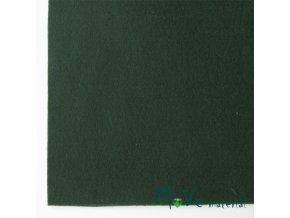 Plsť (filc) 20x30cm, 1ks, tmavě zelená