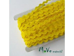 Hadovka citronově žlutá 9mm, 1m