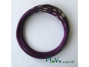 Lanko 15cm se zapínáním fialové 1kus