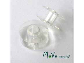 Cívka k šicímu stroji SINGER plastová 19,4mm, 2ks