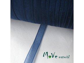 Šifónová stuha modrá 6mm, 1m