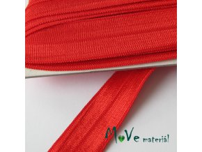 Pruženka lemovací šíře 18mm, 1m, červená