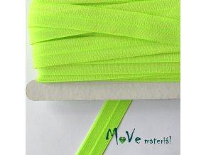 Pruženka lemovací šíře 18mm, 1m, neon. zelená