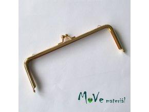 Kabelkový rámeček 14,5x18cm, zlatý