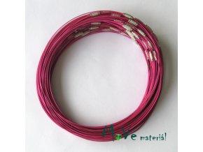 Lanko 15cm se zapínáním růžovofialové 1kus