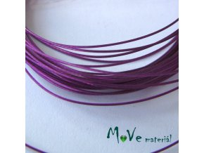 Nylonové lanko 0,45mm, 5m, fialové
