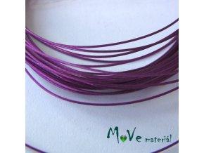 Nylonové lanko 0,45mm, 2,5m, fialové