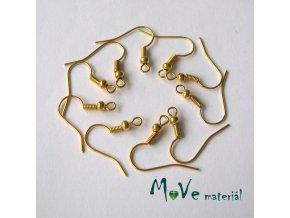 Afroháčky zlaté 10 ks (5 párů)