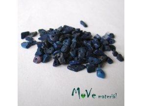 Lapis lazuli zlomky vrtané, 7g