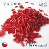 Český rokajl - tyčka, 20 g, červený